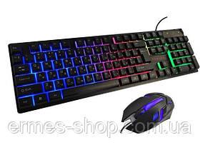 Ігрова клавіатура з підсвічуванням KR - 6300 LED