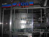 Линия розлива пива в стеклянную бутылку 0,5л(Германия,KHS) б/у