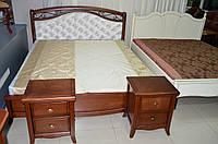 Кровать деревянная  Лирос