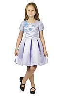 Нарядное платье 15-255 (сиреневое, р.104-134)