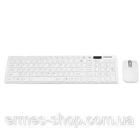 Бездротова клавіатура і миша K-06 Білий