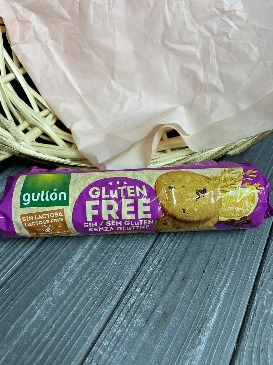 Печенье GULLON, Без Глютена, Овсяное С Апельсином, 180г
