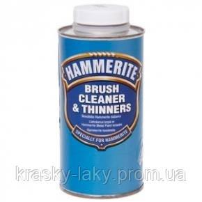 Растворитель и очиститель Хаммерайт Hammerite BRUSH CLEANER AND THINNERS, 500мл