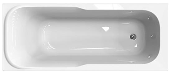 Ванна акрилова Sensa прямокут. 170х70 см. без ніг