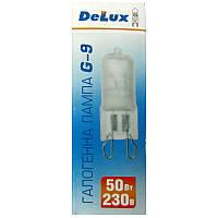 Лампочка  DELUX  галогеновая G-9 50W 220V матовая