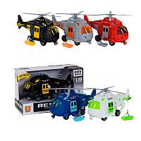 Вертолет инерционный WY 760 А/В/C/D/E звук, свет, 5 цветов