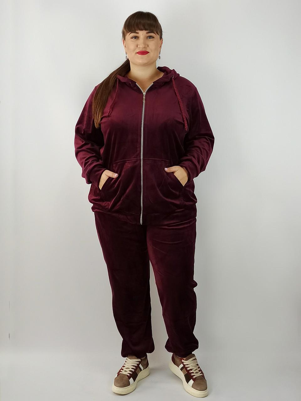 Спортивний костюм жіночий великі розміри від 54 до 68