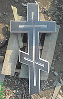 Крест из натурального гранита
