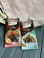 Шоколад Torras без цукру в асортименті