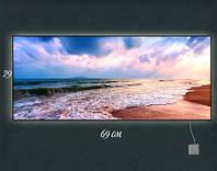 Картина с подсветкой Морской прибой 29x69