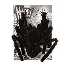 """Декор на Хэллоуин """"Черная вдова"""""""