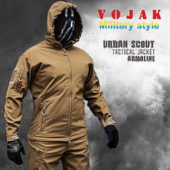 "Куртка SoftShell ""URBAN SCOUT"" COYOTE"