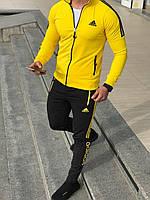 Мужской спортивный костюм Адидас Adidas . Спортивный костюм Адидас. Спортивний костюм Adidas желтый