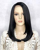 Парик на сетке Lace Wig Natalie тон 1B черный, фото 1
