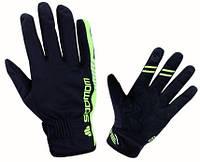 """Велосипедные перчатки зимние непродуваемые сенсорные Sobike """"Saxon"""" с мембраной Windstopper"""