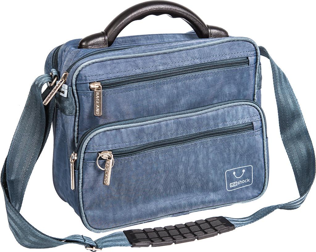 """Отличная мужская сумка """"Mr.Braun"""" Bagland 24070 черный"""