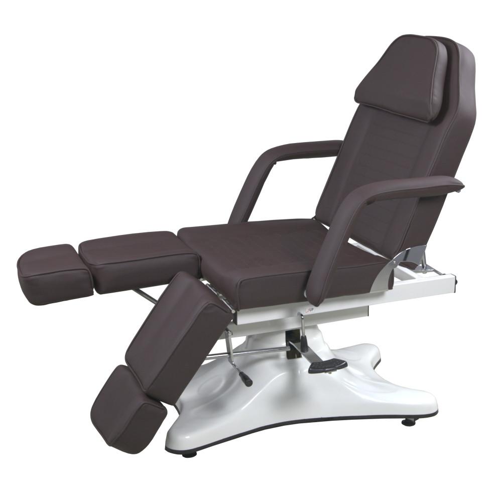 Педикюрная кушетка на гидравлике кресло для педикюра с раздельной подножкой