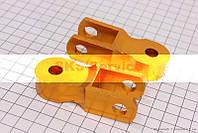 Удлинитель заднего амортизатора 50мм к-кт 2шт, желтый