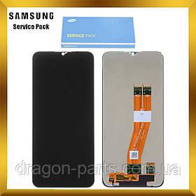 Дисплей Samsung A025 Galaxy A02s 2021 с сенсором Без рамки Черный, Синий, Белый оригинал , GH81-18456A