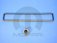 Комплект ГРМ, цепь + шестерня коленвала 1.8L (CHRYSLER 68055039AA)