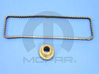 Комплект ГРМ, цепь + шестерня коленвала 2.0 L,2.4 L (CHRYSLER 68055040AA)