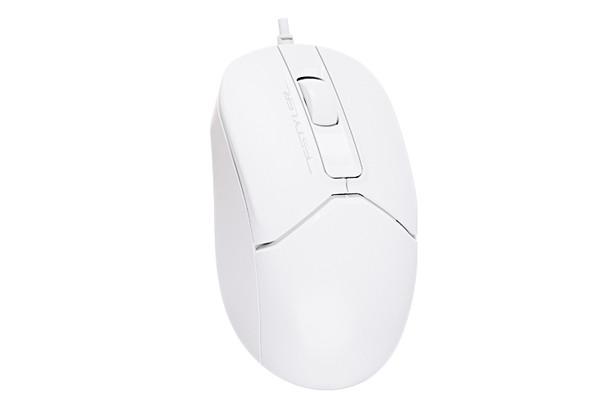 Мишка A4tech FM12S White