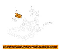 Подушка коробки Акпп (GM 15804744)