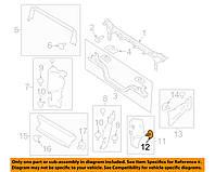 Клипса расширителя арок (FORD W705589S)