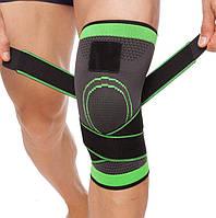 Бандаж коленного сустава, Фиксатор коленного сустава, бандаж на колено Черный KNEE SUPPORT WN 26