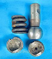 Ремкомплект продольной рулевой тяги ЗИЛ-130 палец+2 сухаря+пружина