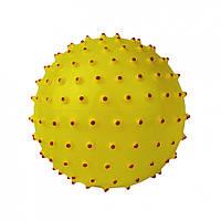 М'яч масажний MS 0025 5 дюймів (Жовтий)