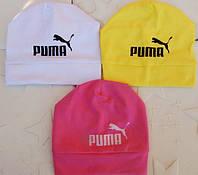 Детская шапка на весну puma