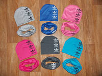 Комплект шапка+ хомут на весну Adidas