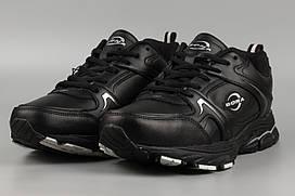 Кроссовки зимние мужские черные Bona 850С-6 Бона утеплённые с мехом Размеры 41 42 43 44 45 46