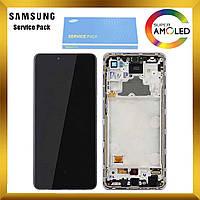 Дисплей Samsung A725 Galaxy A72 с сенсором Фиолетовый Violet оригинал, GH82-25460C