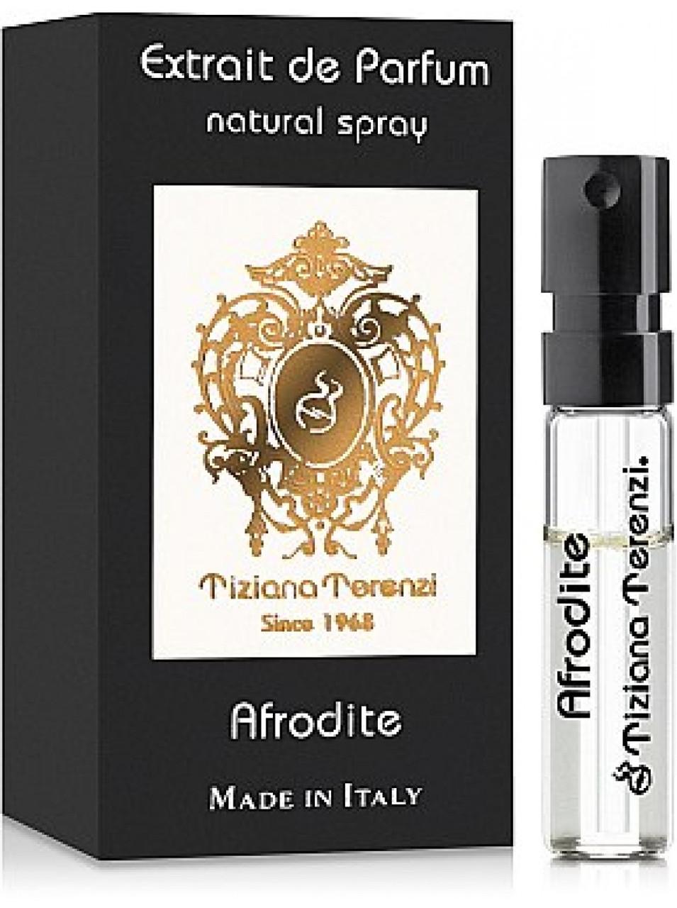 ПРОБНИК оригінальний TIZIANA TERENZI Afrodite 1,5 ml пряний квітковий аромат унісекс Тизиана Терензи Афродіта