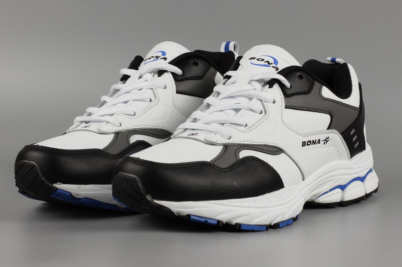 Кросівки унісекс жіночі білі Bona 828A-2 Бона Розміри 36 37 38 39 41