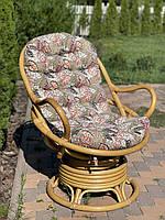 Матрас для кресла качалки стеганный серия Elit Flowers