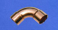 Колено медное 45°двухраструбное к трубе 18мм