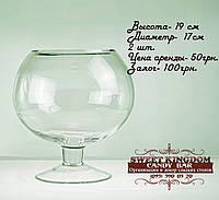 Стеклянный бокал для Кенди бара