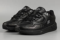 Кросівки чоловічі чорні Bona 820С Бона Розміри 41 42 43 44 45 46, фото 1