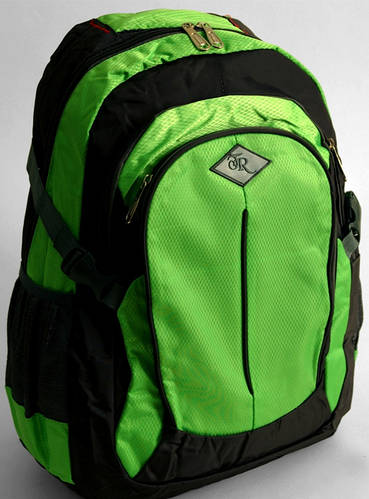 Яркий салатовый городской рюкзак Traum 7024-04
