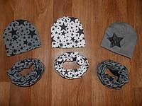 Комплект шапка+ хомут на весну Adidas , фото 1