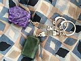 Брелок для ключів з чароитом, фото 2