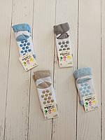 Шкарпетки дитячі махрові СНІЖИНКА для дітей рр 1-3 (12шт.уп.),колір мікс