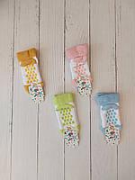 Шкарпетки дитячі махрові ЛАПКИ для дітей рр 0-3 (12шт.уп.),колір мікс
