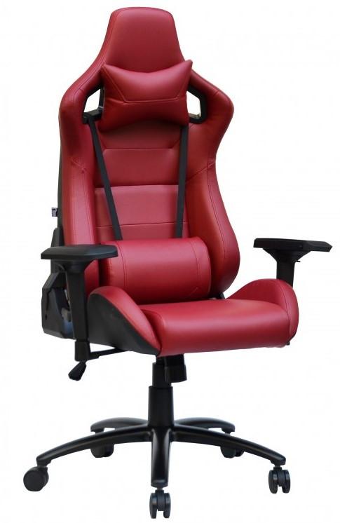 Геймерське крісло Special4You ExtremeRace black/deep red (E2905) TM Technostyle-Pro