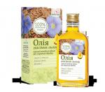 Натуральное масло льна -природным средством для профилактики атеросклероза, ишемической болезни сердца (200мл)