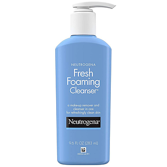 Пенка для умывания и удаления макияжа Neutrogena Fresh Foaming Facial Cleanser & Makeup Remover 283 мл