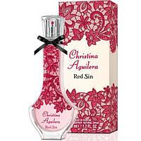 Женская парфюмированная вода Christina Aguilera Red Sin, 75 мл